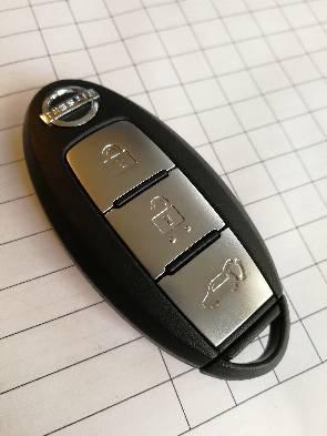 Смарт ключ ниссан тиида